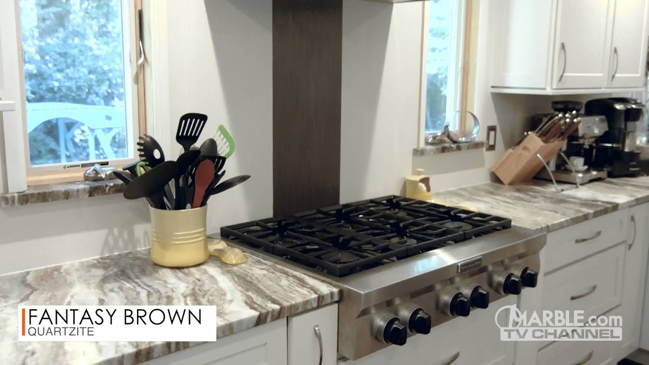 brown stained island white granite pin with kitchen fantasy color leathered transitional farmhouse countertops