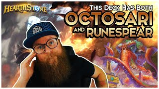 This deck has both OCTOSARI and RUNESPEAR (and is really good) | Hearthstone | Descent of Dragons