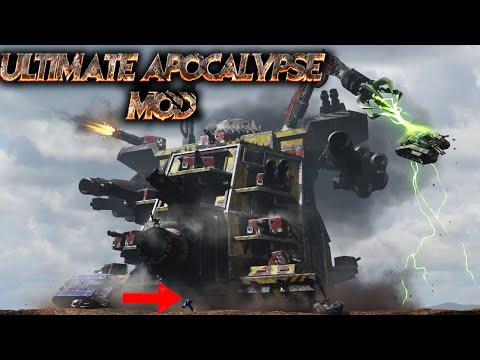 Its A Gargant World Ultimate Apocalypse Mod Dawn Of War Soulstorm
