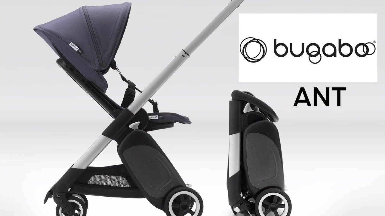 Bugaboo Ant | Brand New Stroller 2019 | Compact Lightweight | Full Demo