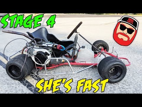 Warrior Race Kart Stage 4 Predator 212 Swap & Top Speed Run