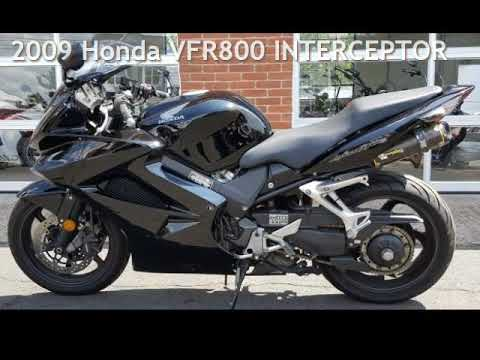 2009 Honda VFR800 INTERCEPTOR for sale in Meriden, CT - YouTube