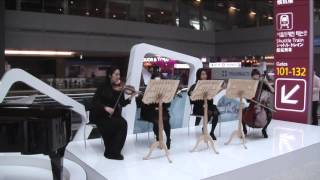 Classical Music Show at Seoul Incheon International Airport Departure Hall.