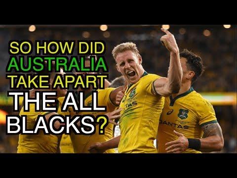 So How Did Australia Take Apart The All Blacks? | Australia 47 - 26 New Zealand | The Squidge Report