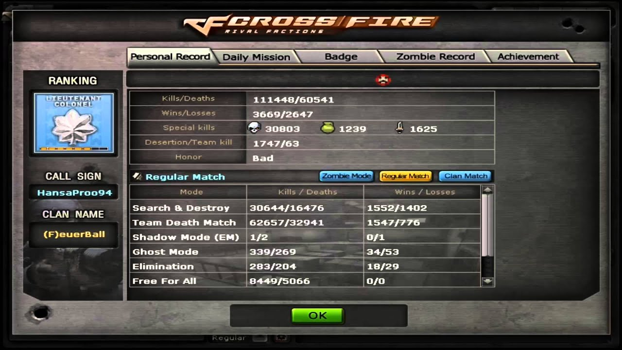 how to make crossfire name
