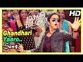 Ghandhari Yaaro Song | Magalir Mattum Tamil Movie Scenes | Urvashi meets Bhanupriya | Jyothika