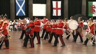 Buxton Military Tattoo 2012 - Yorkshire Volunteers Band