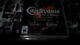 Unboxing Castlevania lord of shadow collection
