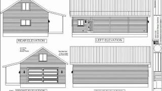 #g384 24' X 40' X 9' Detached Garage With Bonus Room