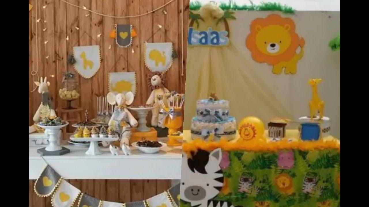 Decoracion De Baby Shower De Animales.Ideas Para Baby Shower De Tematica Safari