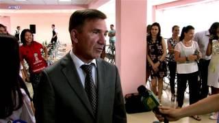 Встреча И.  А. Гуськова с командой