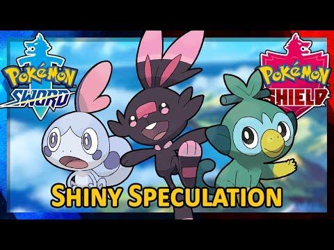 pokemon-sword-&-shield:-shiny-speculation---the-starters-(shiny-grookey,-scorbunny,-and-sobble!)