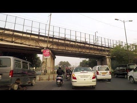 Driving Around in New Delhi 1 - India
