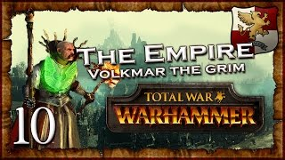 [10] VOLKMAR'S STAND - Total War: Warhammer (The Grim and the Grave) Empire Campaign Walkthrough