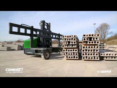 Combilift C-Series Concrete And Rebar -counterbalance, Side-loader And VNA Truck All In One Forklift
