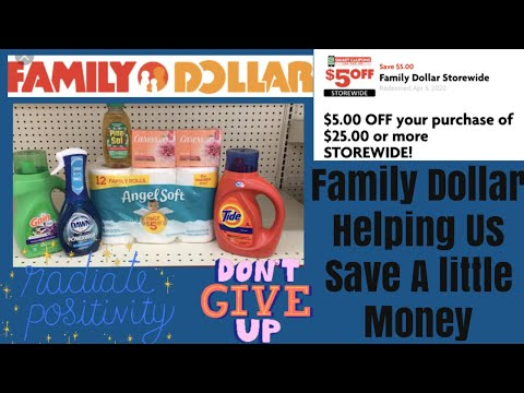 Family Dollar All Digital $5/$25 Anyone Can Do // Coupon Ends 411