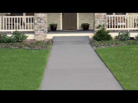 How-To: Apply Behr Premium Solid Color Concrete Stain