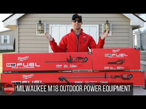 It's Here! Milwaukee Outdoor Power Equipment (OPE) Overview!