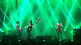 (HD)  Somewhere In Neverland - All time low glasgow O2 academy march uk tour 2014