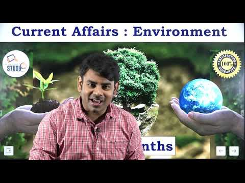 Current Affairs : Environment Related Question Answer Last 6 Months with Nitin Sir Study91 pdf Test
