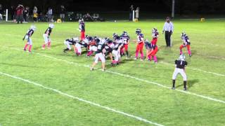 Karreem Dunner 40 Yard Run vs  Crystal Lake