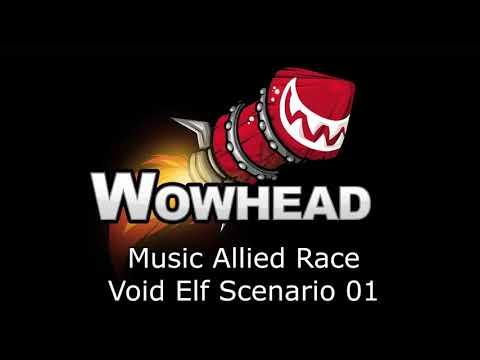 Allied Race Void Elf Scenario 01  Music Patch 735