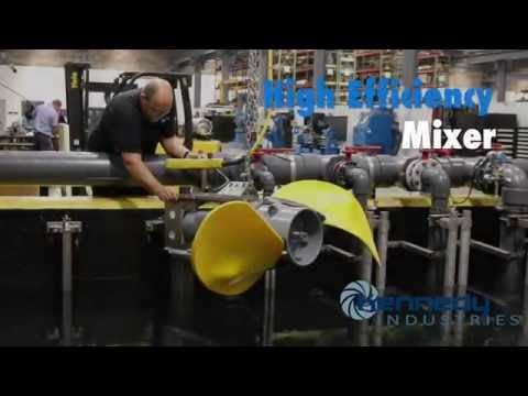 Wastewater Mixing: Flygt 4320 Mixer - Kennedy Industries