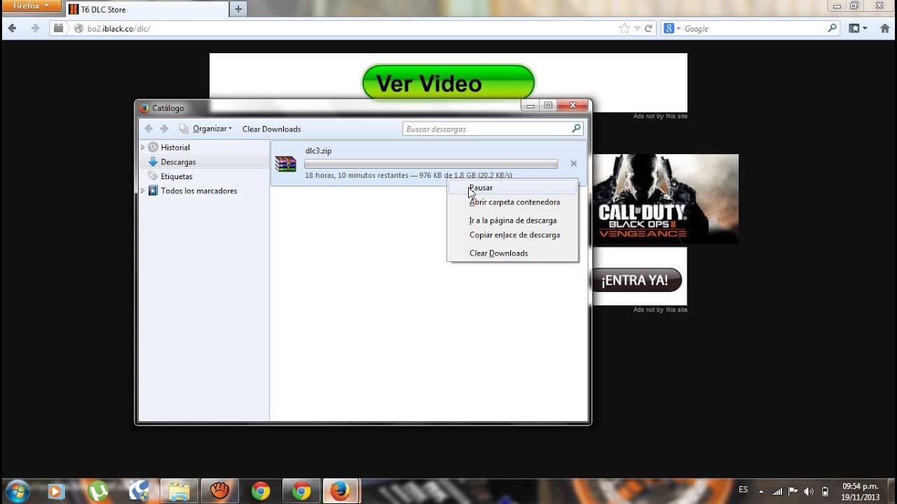 A) COMO RECUPERAR LA DESCARGAR DE UN ARCHIVO DE GOOGLE CHROME - YouTube