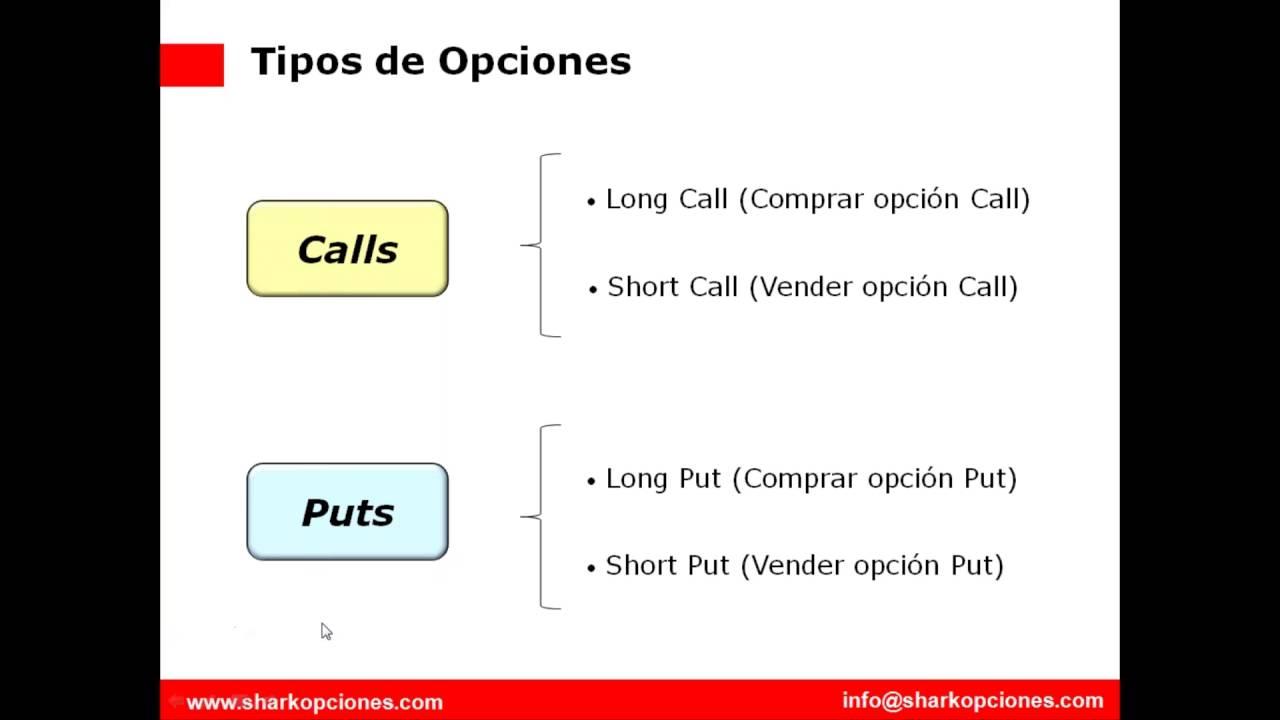 Las opciones financieras   Instrumentos Financieros