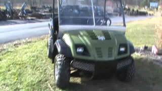 2008 cub cadet volunteer 748cc efi utv 4x4 300 hours side by side for sale
