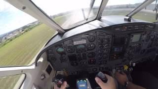 EMB110 BANDEIRANTE DECOLAGEM SDCO - PILOT VIEW
