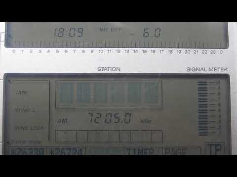 SUDAN RADIO [AL AITAHAB, 100 KW] — 7205 KHZ — [14 NOV. 2017 05.09 UTC]
