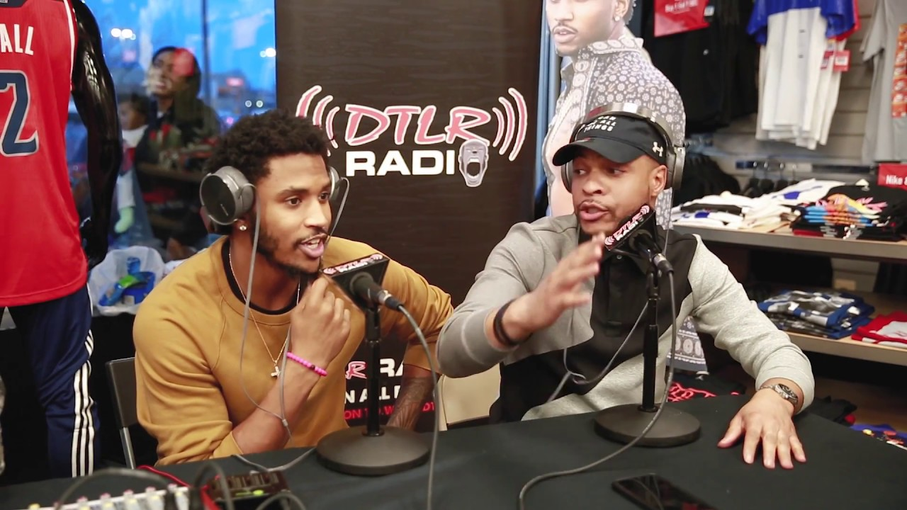 Jay Claxton Sits Down With Trey Songz At Dtlr Meet Greet Youtube