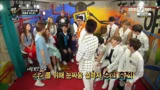 [CUT] MOOS & Heo Jun Staring game {Yaman TV}