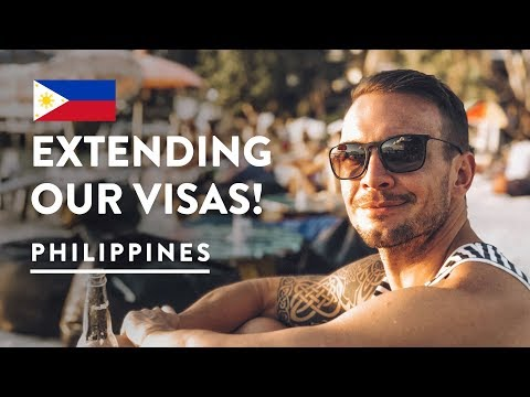 STAYING LONGER! VISA EXTENSION IN BORACAY | Philippines Travel Vlog 101, 2017 | Digital Nomad