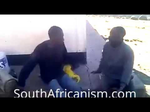 Suspects forced to hit each other - Ladysmith, South Africa