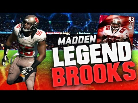 DERRICK BROOKS FEASTS! - Madden 16 Ultimate Team Gameplay