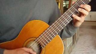 How to Play Spanish Fly - Part 4, Second Fast-picking Run
