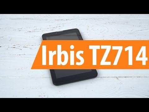 Распаковка планшета Irbis TZ714 / Unboxing Irbis TZ714