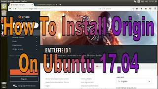 How To Install Origin On Ubuntu 17.04