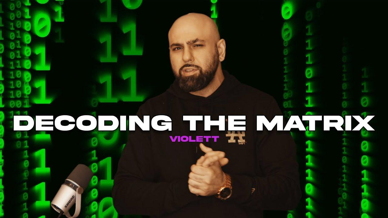 ONKEL-B - DECODING THE MATRIX | VIOLETT | KRYPTO LYRIK