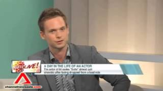A day in the life of Patrick J Adams
