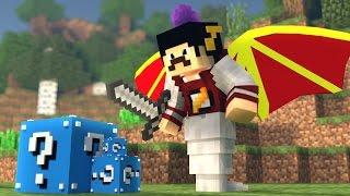 Minecraft Mods: VIRAMOS BICHOS DEFORMADOS - CORRIDA DE LUCKY BLOCK ‹ AM3NIC ›