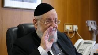 ראיון פרישה עם הרב ישראל מאיר לאו HD