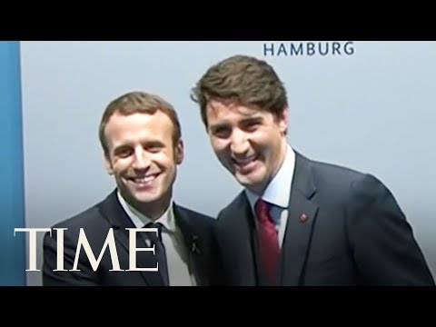 Justin Trudeau And Emmanuel Macron Continue Their Ideal Bromance At The G20 Summit | TIME
