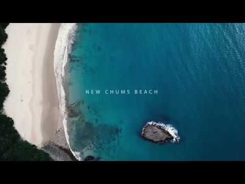New Chums Beach New Zealand - 4k