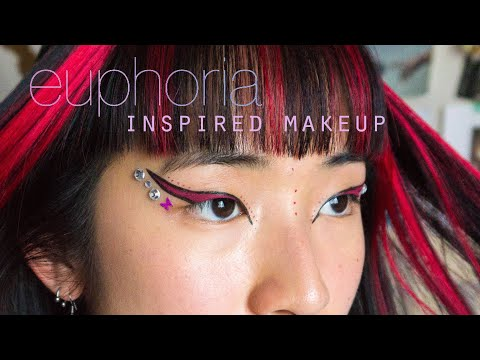 Euphoria Makeup Tutorial (inspired eyeliner) thumbnail