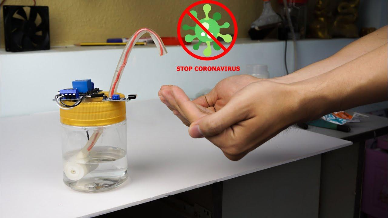 Cách Làm Máy Rửa tay Không Tiếp Xúc Cùng Nhau Đẩy Lùi Cô Vít