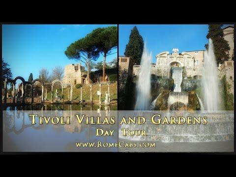TIVOLI VILLAS and GARDENS DAY TOUR - with RomeCabs