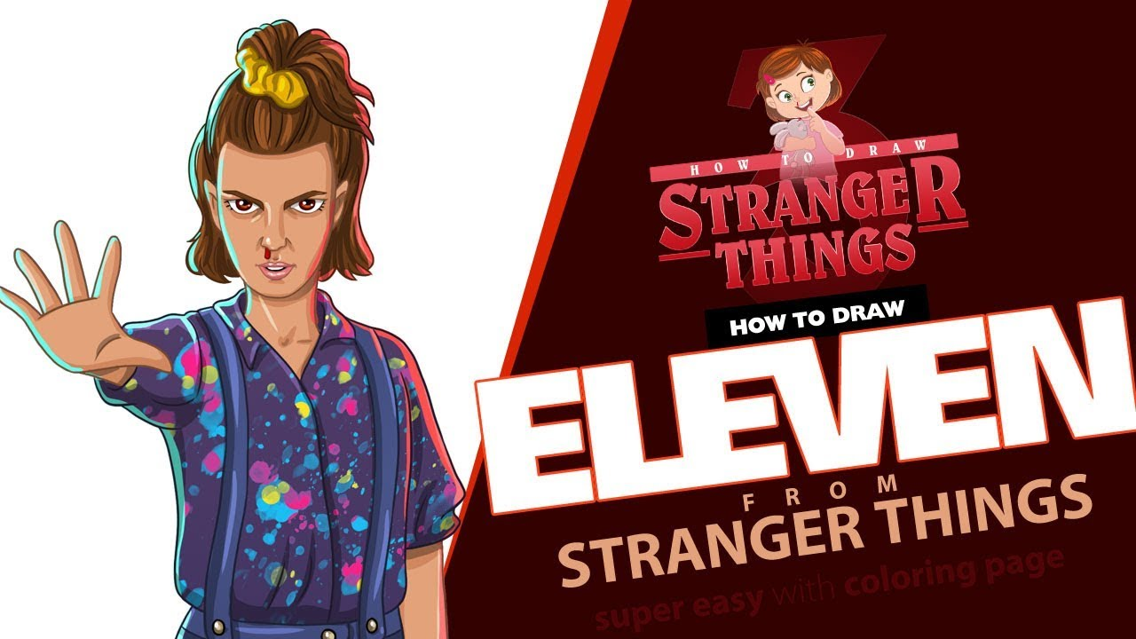 Coloring Pages Stranger Things. Free printable of all characters   720x1280